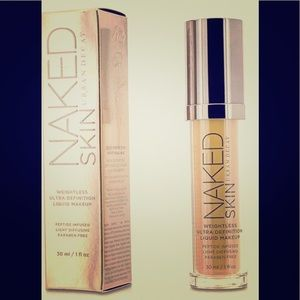 💯Urban Decay Naked Skin Weightless HD Foundation!